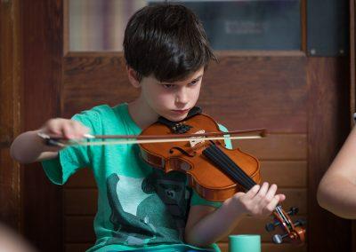 Teddy fiddle